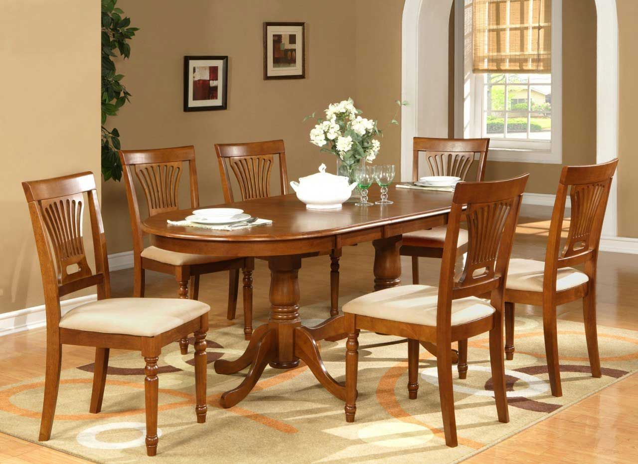 Dining Room Tables Ideas 9   Oval dining room table, Dining ...