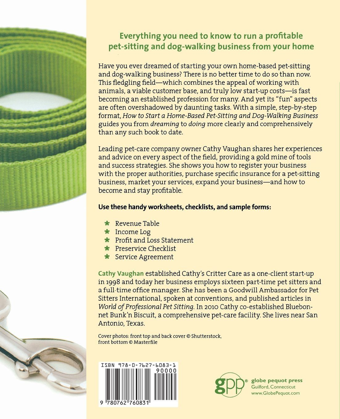 How to Start a Home-Based Pet-Sitting and Dog-Walking Business (Home ...