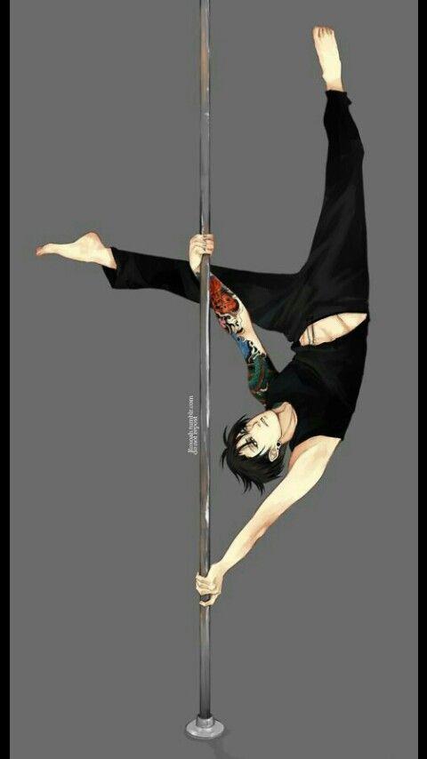 Pole Dancing Levi Attack On Titan Levi Levi Ackerman Attack On Titan