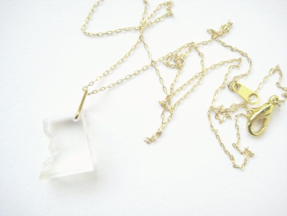 acrylic DC necklace $40
