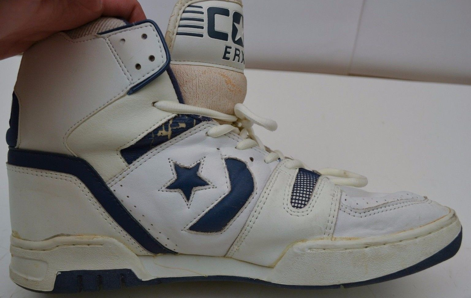 best website 18f82 a2338 ... Vintage Converse Cons ERX 200 Mens Size 13 5 US Hightops Made in Korea  Shoes NBA ...