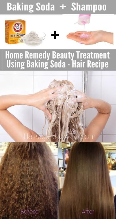 How to restore your hair with baking soda  Hairstyles for Long Hair  Pinterest  Soda
