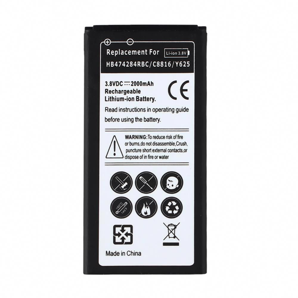 2000mah Phone Replacement Rechargeable Li-ion Battery For