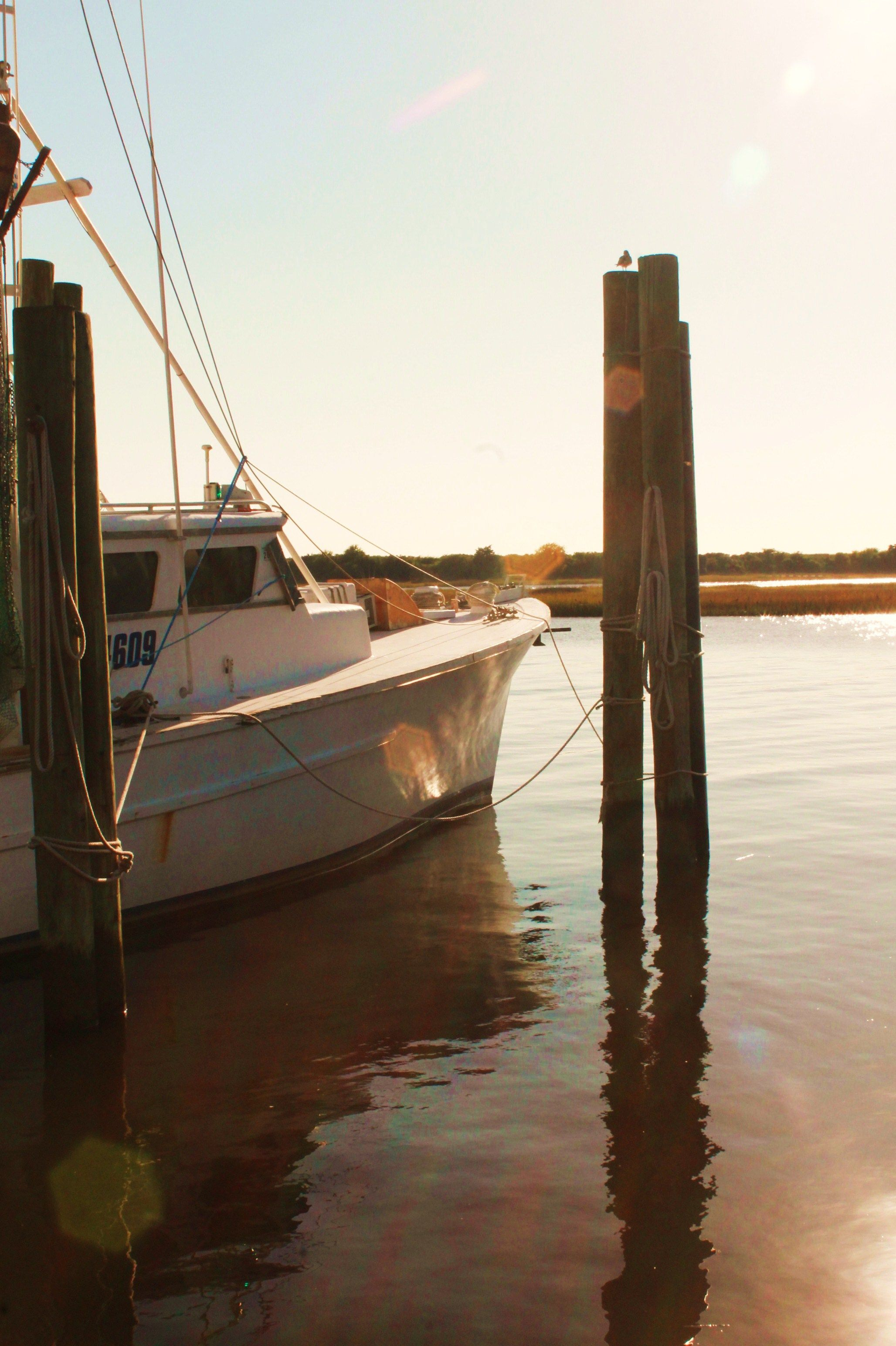 Cape Point Shrimp boat Southport NC Oct  13 2012 | Favorite Places