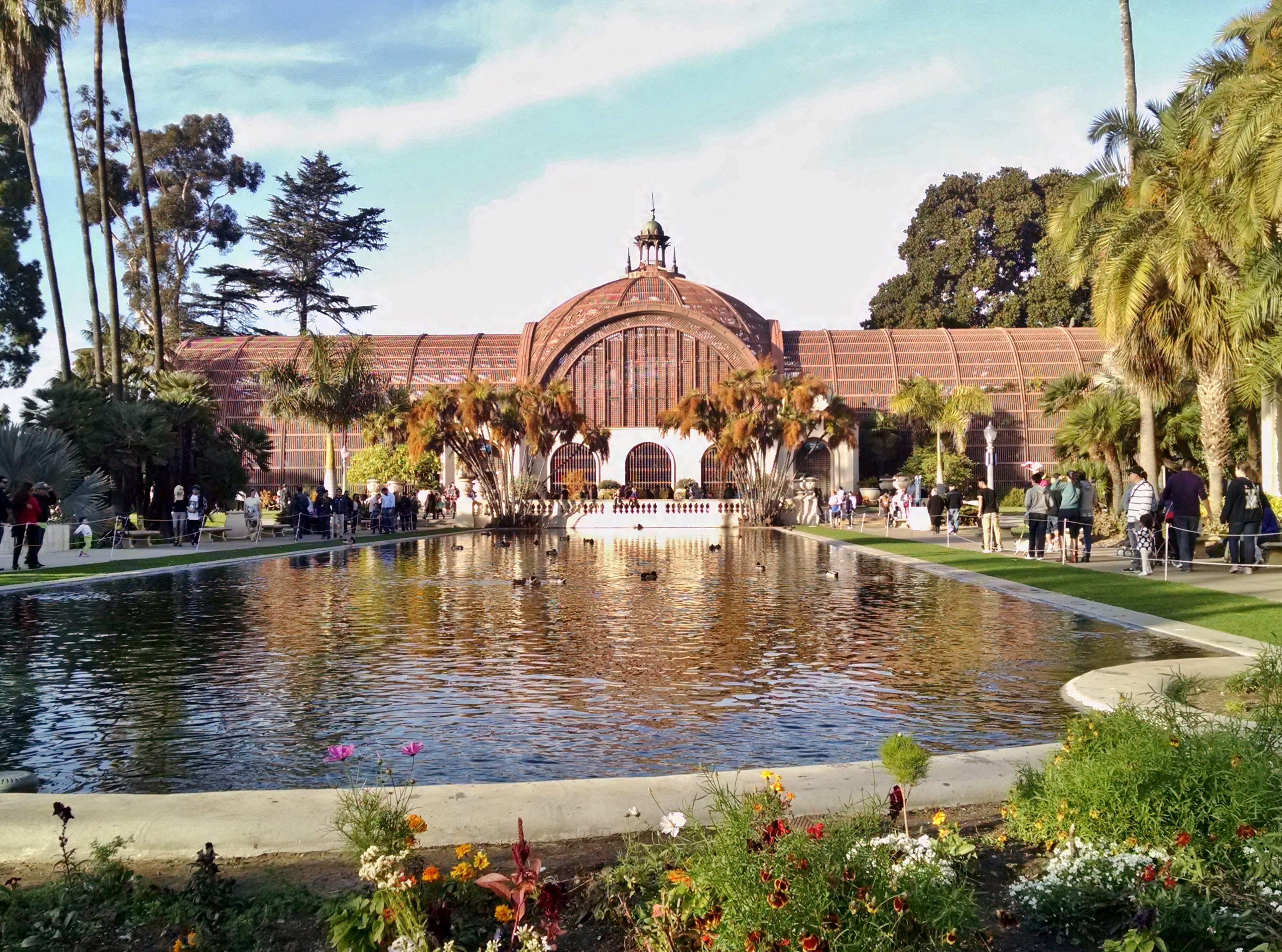 San Diego Botanical Garden, Balboa Park, duck and koi pond | San ...