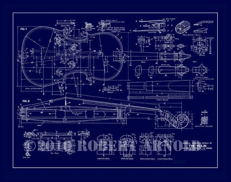 Картинки по запросу Violin blueprints в 2019 г. | Скрипка ...