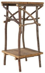 Types Of Twigs To Use For Furniture. Rustic Twig Furniture