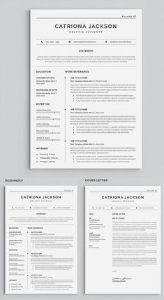6 Resume Template Bundle For Professional Teacher Medical Or Etsy Resume Words Resume Template Resume Templates