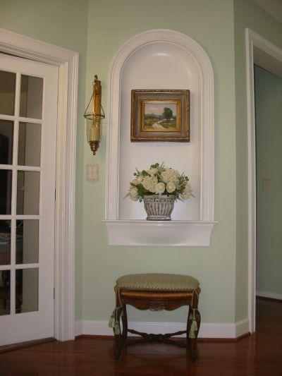 Foyer Niche Bed Amp Bath Niche Decor Interior Decor