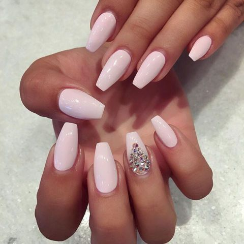 the ultimate guide to nail shapes  clear nail tips types