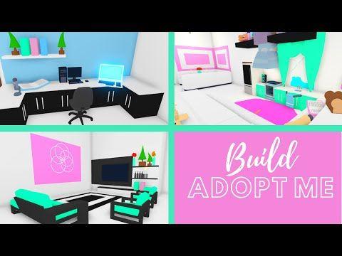 Adopt Me Speed Build Adopt Me Building Hacks Adopt Me Living Room Design Adopt Me Kitchen Design Youtube In 2020 Adoption Cute Room Ideas Living Room Designs