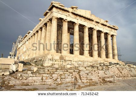 Google Image Result for http://image.shutterstock.com/display_pic_with_logo/677035/677035,1297926186,14/stock-photo-scenic-view-of-parthenon-temple-acropolis-athens-greece-71345242.jpg