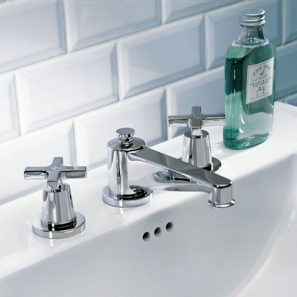 G THG Paris Traditional Spirit Widespread Faucet Faucet - Bathroom faucets and hardware