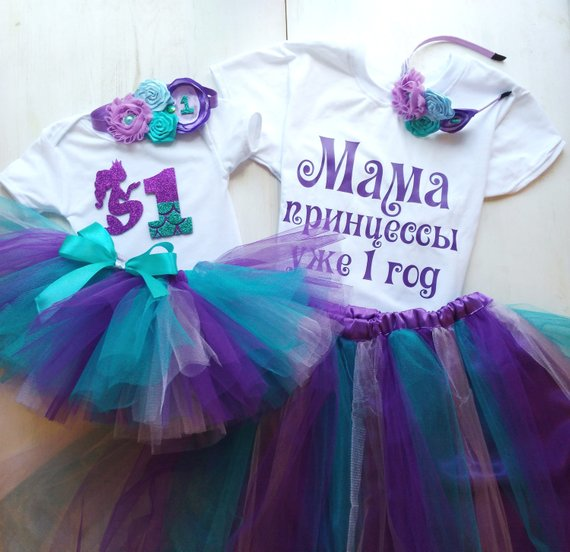 Mermaid Family Look Mommy and Me Outfit ae3308260