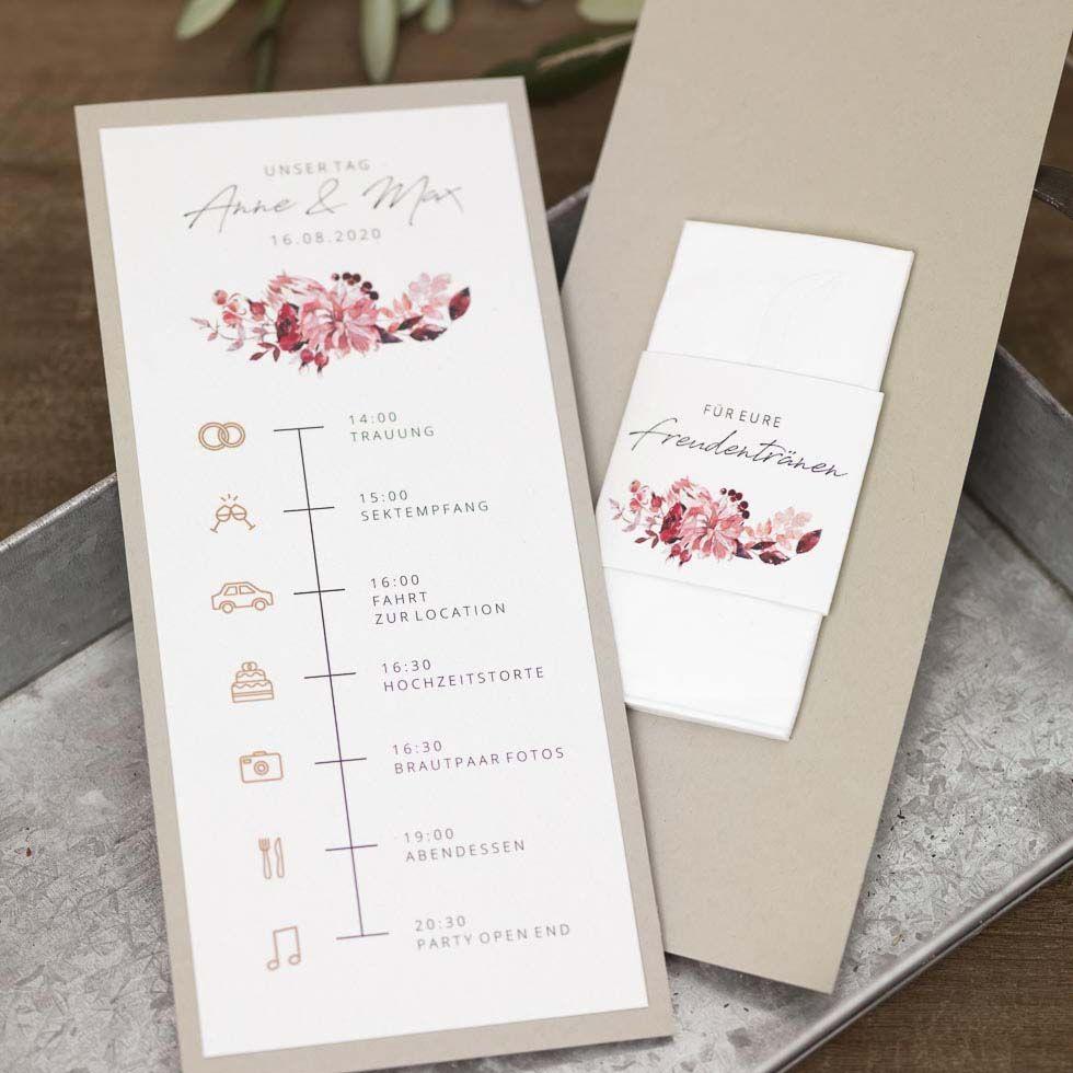 Vorlage Timeline Hochzeit Fur Word In 2020 Wedding Booklet Modern Wedding Invitations Vintage Wedding Invitations