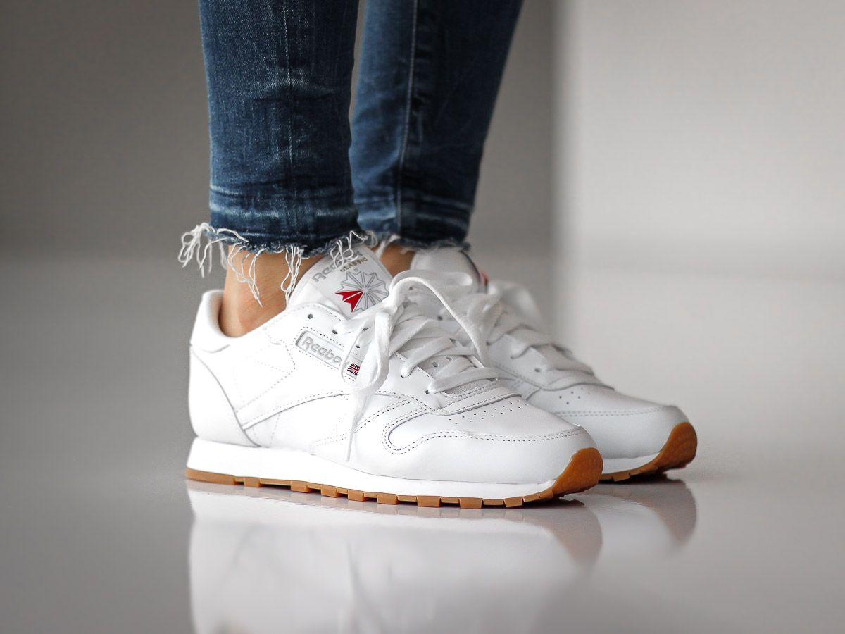 Reebok Classic Leather Gum Womens Schuhe Reebok Reebok Schuhe Damen Rebook Schuhe