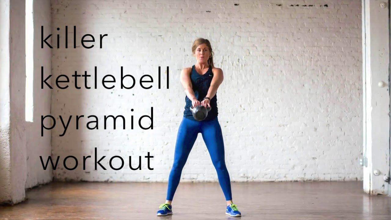 killer kettlebell pyramid workout {20 minute amrap}