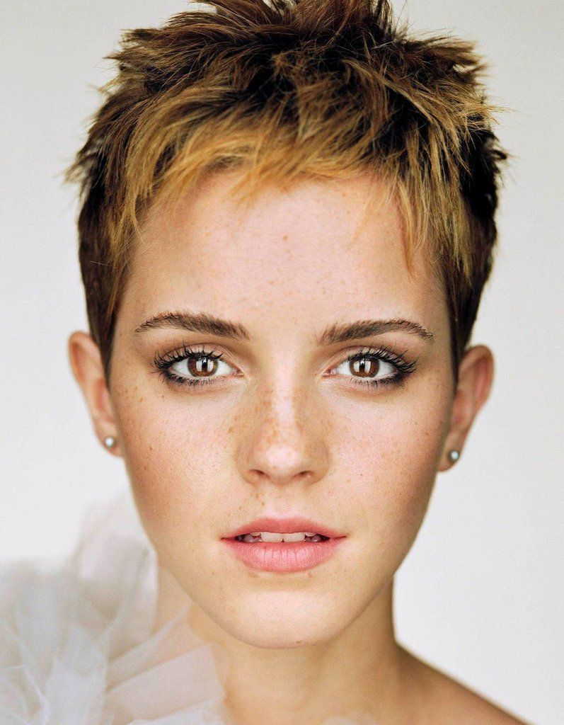 Mens haircut short on sides emma watson  hairstyle ideas  pinterest  emma watson