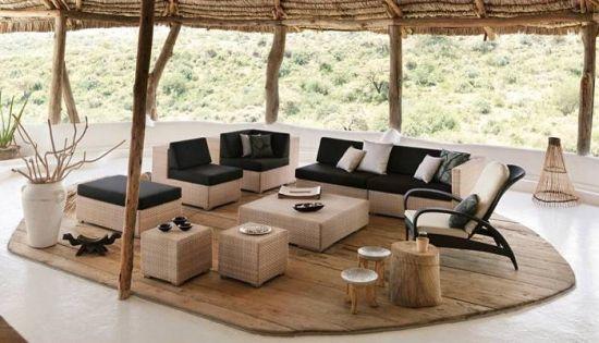 Lounge Garten Möbel Sofa Set Outdoor Pinterest Patios