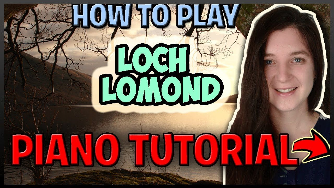 How To Play LOCH LOMOND Scottish Traditional - Easy Piano (Synthesia) [Piano Tutorial] [HD]