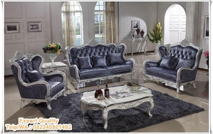 Kursi-Tamu-Klasik-Modern-Duco Toko Indo Furniture Pinterest - barock mobel versailles sofa
