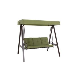 Garden Treasures 3 Seat Steel Casual Porch Swing At Lowes
