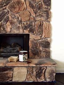 lava rock fireplace - Bing images | Lava rock fireplace, Fireplace, Rock fireplaces