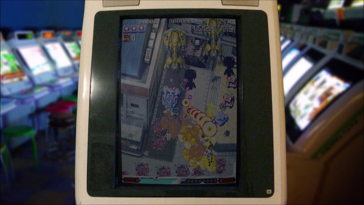 Mame Overlay - Japanese Arcade Cabinet (Vertical Monitor)   Video