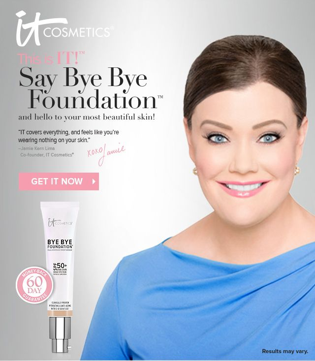 Bye Bye Foundation From It Cosmetics Bye Bye Foundation Acne Makeup Skincare Video