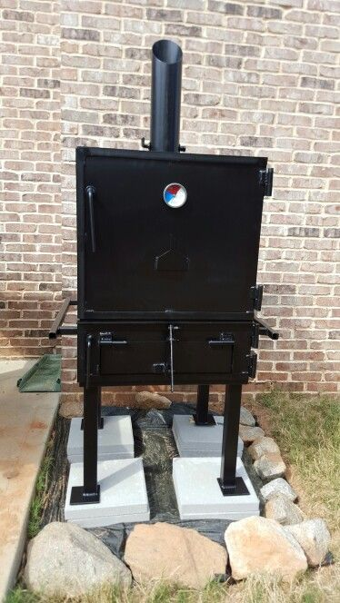 the best attitude size 7 exclusive range Custom cube smoker from Grill Master Grills from Gray, Ga ...