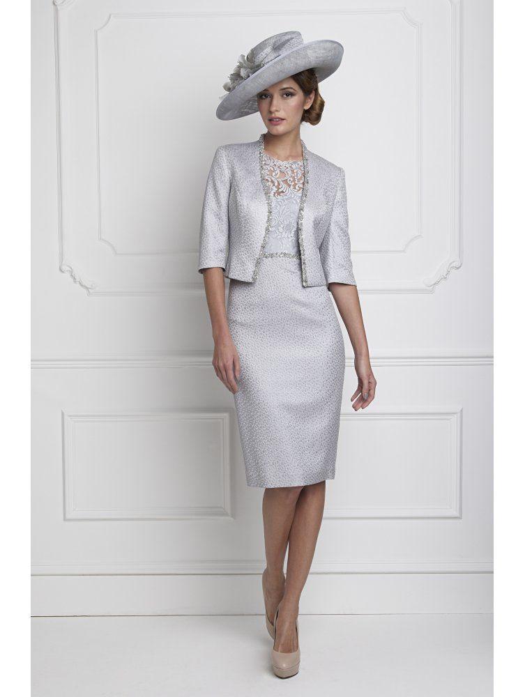 1620e27033c JOHN CHARLES John Charles 25620 Lace Dress with Sleeve and Jacket ...