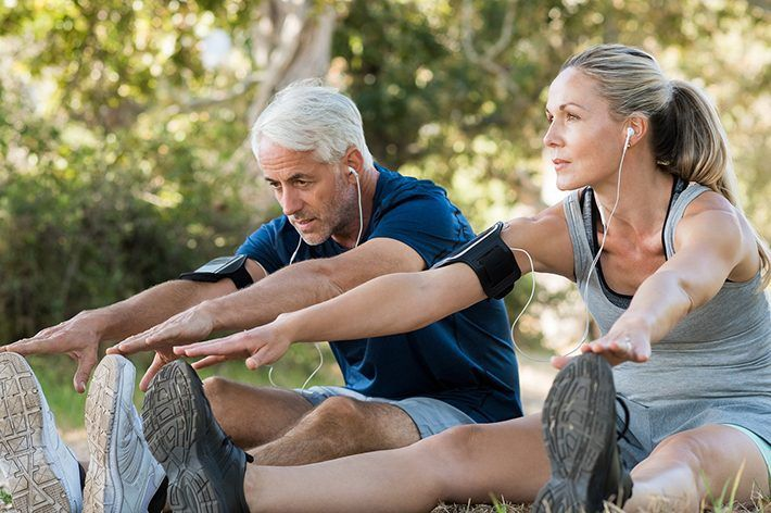 Αποτέλεσμα εικόνας για How to recover more quickly from exercise if you are older than 40