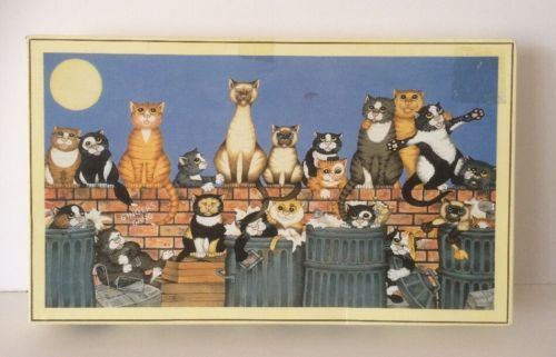 Gibsons Glamping Cats Jigsaw Puzzle