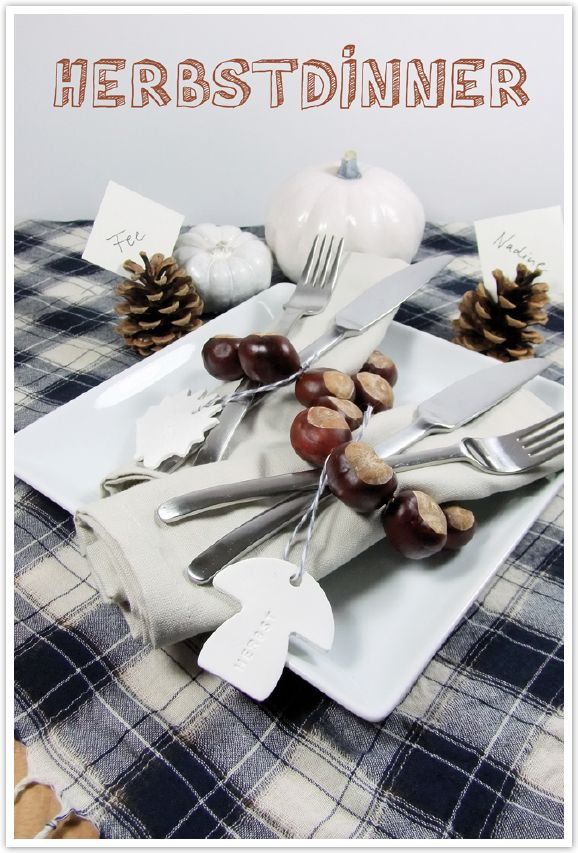 Herbst-Liebelei: Heute zeigt Fee euch ihre Ideen für eine herbstliche Tischdeko