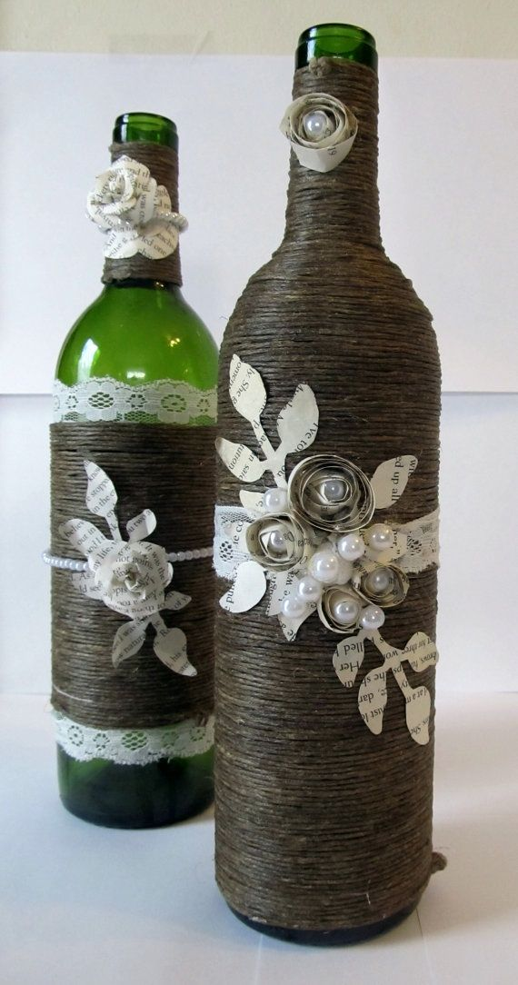 30 Ideas For Decorating Your Wine Bottles Sortrature Bottles Decoration Wine Bottle Decor Wine Bottle Art