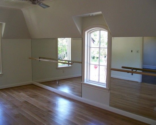 Ballet Mirror Bar Good Design For Rec Room