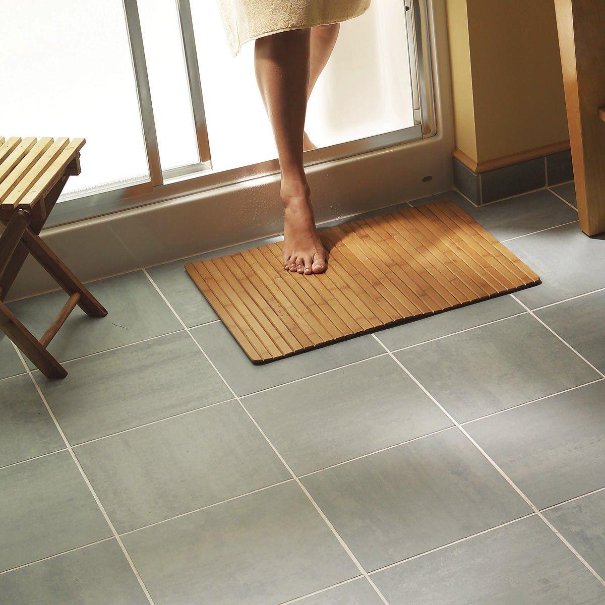 Installing Tile Bathroom Floor