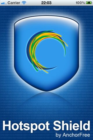 Hotspot Shield for iPhone by AnchorFree provides a VPN to encrypt