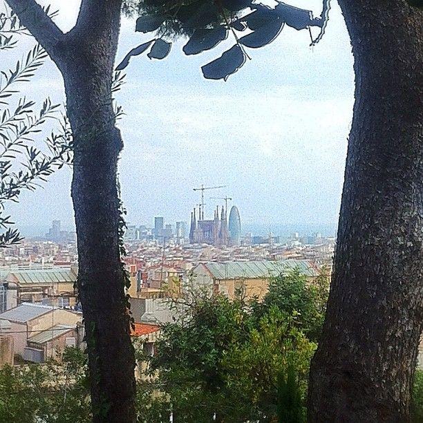 Sagrada Familia con Torre Agbar
