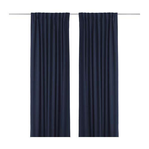 Ikea Us Furniture And Home Furnishings Block Out Curtains Ikea Curtains Blue Blackout Curtains