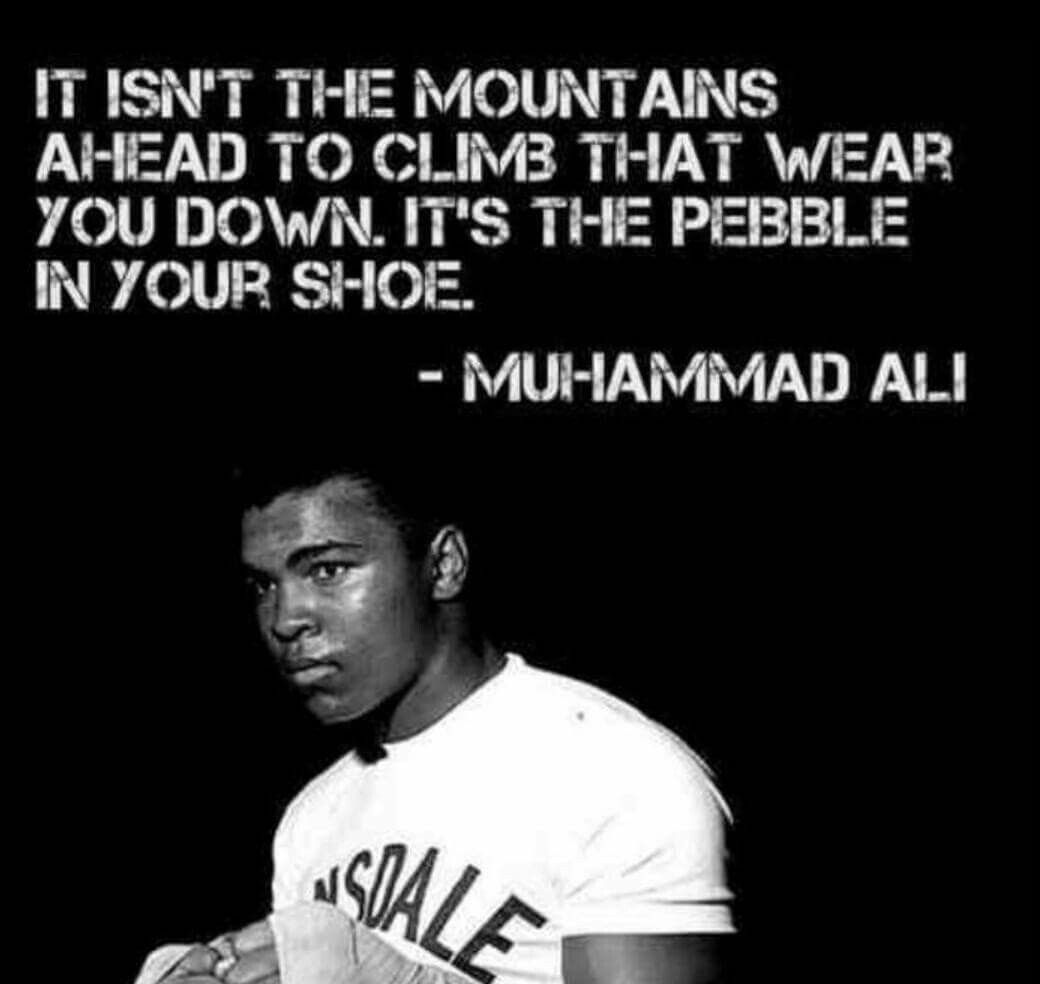 Great Famous Quotes Pinroger Fulsom On Muhammad Ali  Pinterest  Ali Quotes Life