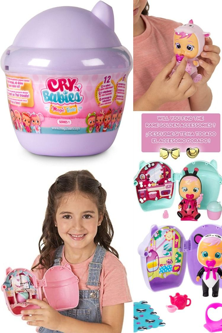 Cry Babies Magic Tears Bottle House Mystery Doll Bottle House Capsule Kids Toys