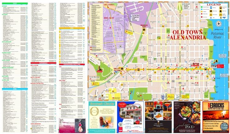 Alexandria tourist attractions map Maps Pinterest Alexandria