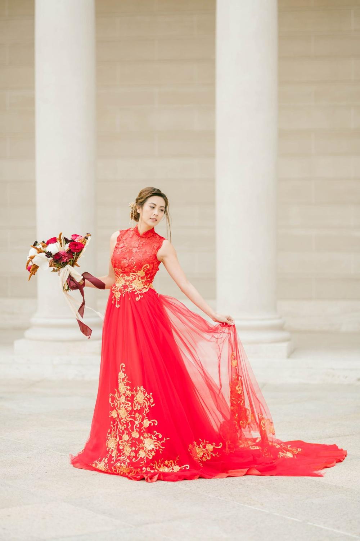 Chinese Wedding Dress Modern Qipao Red Cheongsam Wedding Dress Traditional Chinese Dress Bridal Qipao Dress Tea Ceremony In 2021 Chinese Wedding Dress Red Wedding Dresses Cheongsam Wedding [ 1500 x 1000 Pixel ]