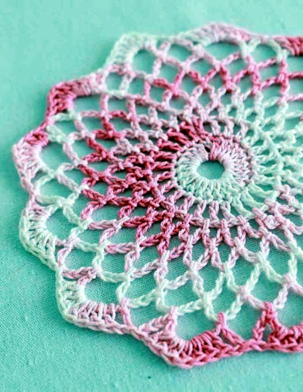 40 Pretty And Easy Crochet Doily For Beginners Making Dream