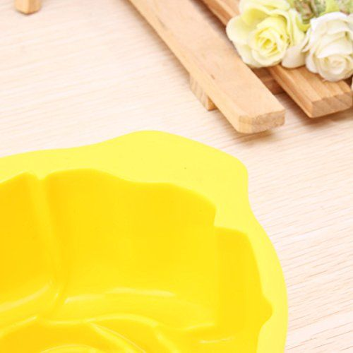 Rose Shape Silicone Cake Pan Mold Baking Mould >>> Details can be found by clicking on the image.