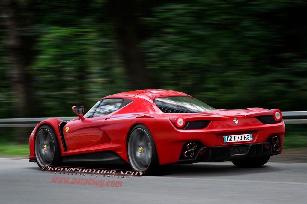 Чекаємо на Ferrari F70 [spy shots]