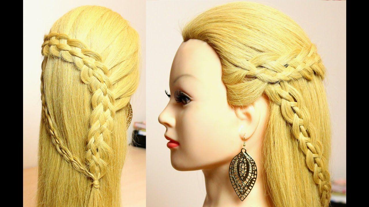 Braid Hairstyles for long medium hair tutorial Peinados
