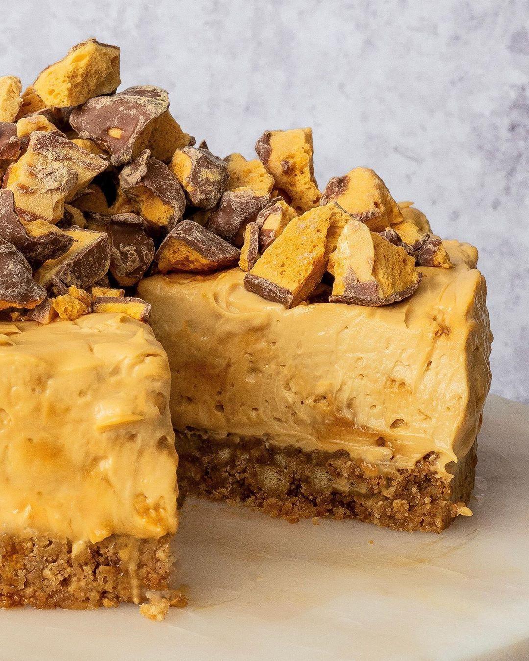 Gluten free cheesecake anyone want the recipe