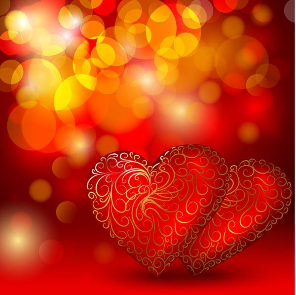 Images Of Beautiful Hearts Beautiful Red Heart Background Vector